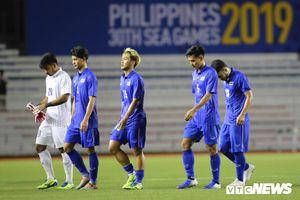 Bóng đá gây thất vọng nhất với Thái Lan tại SEA Games 30