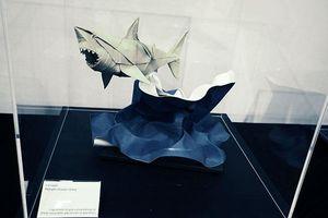 'Origami hình học không gian'