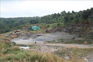 Nhiều sai phạm nghiêm trọng, kéo dài tại mỏ đá Thạch Lợi ở Đắk Nông
