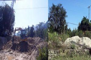 Huyện Vị Xuyên: Tiếp diễn tình trạng khai thác khoáng sản trái phép