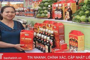 Sản phẩm nông nghiệp tiêu biểu Hà Tĩnh sẵn sàng cho ngày hội lớn