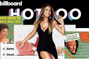 Kết quả Billboard HOT 100 tuần này: Ca khúc Giáng Sinh thay nhau thống lĩnh, Mariah Carey 'rước' về cho mình ca khúc No.1 thứ 19