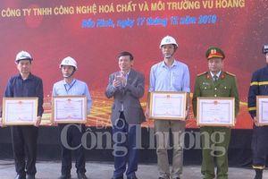 Cục Hóa chất tổ chức diễn tập ứng phó sự cố tại Bắc Ninh