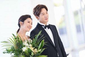 Ảnh cưới của em trai Kim Tae Hee và nữ vận động viên quốc gia