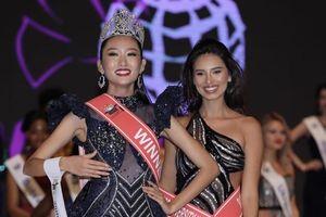 Người đẹp có tuổi thơ đầy sóng gió đăng quang 'Hoa khôi sinh viên quốc tế 2019'