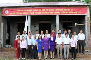 Hỗ trợ xây nhà nhân đạo cho các hộ nghèo tỉnh Thái Nguyên