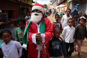 Đón Giáng sinh với người châu Phi