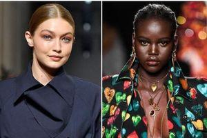 Gigi Hadid và Adut Akech là những người mẫu trang bìa hàng đầu của năm 2019