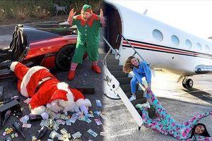 Muôn kiểu khoe của của hội 'rich kid' quốc tế dịp Giáng sinh