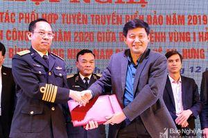 Nghệ An được tuyên dương trong công tác phối hợp tuyên truyền biển, đảo năm 2019
