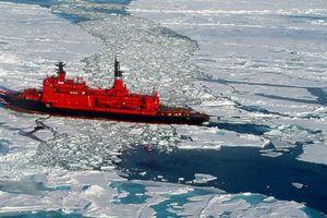 Những hình ảnh ấn tượng về các tàu phá băng trên thế giới