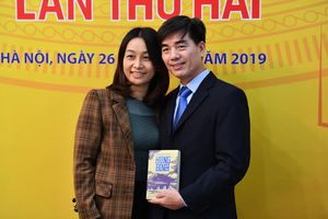 Các tác giả trong buổi trao giải Sách Quốc gia 2019