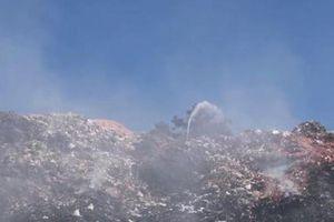 Cháy bãi rác Cam Ly, Đà Lạt chìm trong khói bụi hôi thối