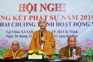 TP HCM: Hội nghị tổng kết Phật sự năm 2019 của phân Ban Gia Đình Phật Tử Trung ương