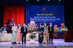 Đại hội Đại biểu Đoàn TNCS Hồ Chí Minh Trường Đại học Văn hóa Hà Nội lần thứ 26, nhiệm kỳ 2019 - 2022