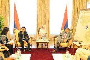 Bloomberg đưa tin Tổng thống Srpska thảo luận với tỷ phú Mai Vũ Minh về hợp tác đầu tư