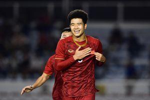 Đức Chinh ghi bàn giúp U23 Việt Nam thắng trong trận đấu tập