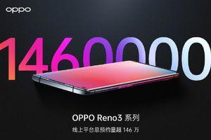Dòng sản phẩm Oppo Reno 3 tăng hơn 1,46 triệu lượt đăng ký