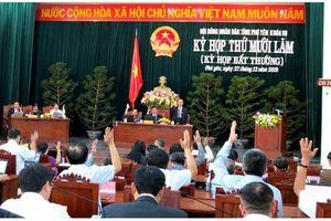HĐNĐ tỉnh Phú Yên thông qua 3 nghị quyết quan trọng
