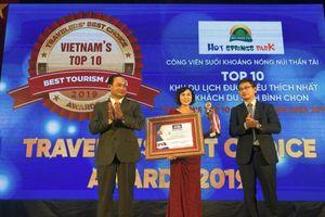 Khu du lịch tại Đà Nẵng lọt top 10 điểm đến yêu thích nhất năm 2019