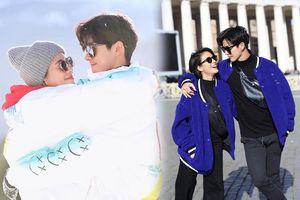 Trước thềm năm mới 2020, nam diễn viên 'Chiếc lá bay' đưa vợ đến Ý du lịch cực ngọt ngào