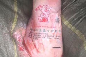 Kinh hoàng thịt vịt nhập lậu từ Trung Quốc về Hà Nội tiêu thụ