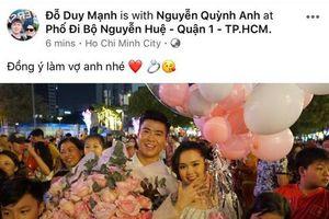 Gia thế khủng và học vấn cực đỉnh của Quỳnh Anh - cô gái vừa được cầu thủ Duy Mạnh cầu hôn