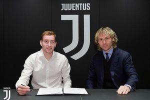 Juventus có tân binh đầu tiên ở mùa Đông