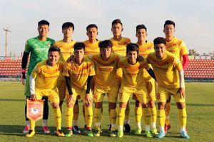 Đình Trọng đá chính trong trận giao hữu U23 Việt Nam vs U23 Bahrain