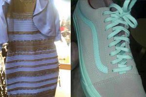 Đôi giày 'xanh xám hay hồng trắng' và các bức ảnh chia rẽ dân mạng