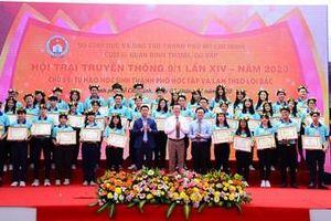 Hơn 12.000 học sinh tham gia Hội trại truyền thống 9-1
