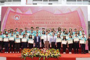 TP.HCM: Hơn 12.000 học sinh tham dự Hội trại truyền thống 9/1