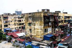 Đề xuất xin 'đất vàng' trụ sở thanh toán dự án BT cải tạo chung cư cũ
