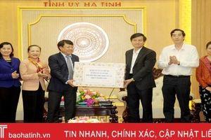 Đoàn công tác Tạp chí Cộng sản chúc Tết Đảng bộ, quân và dân Hà Tĩnh
