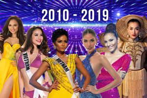 8 mỹ nhân Việt chinh chiến Miss Universe: H'Hen Niê lọt Top 5 'gây bão', Hoàng Thùy đáng tiếc nhất