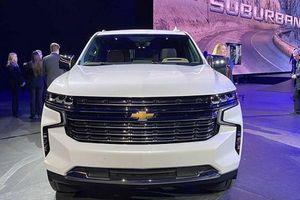 'Khủng long' Chevrolet Suburban 2021 có thêm phiên bản Z71