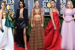 Quả cầu vàng 2020: Scarlett Johansson 'thả rông', bạn gái Iron Man mặc như không
