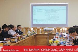 Tháng 12/2020, tổ chức đấu thầu xây dựng tiểu dự án đô thị Thạch Hà