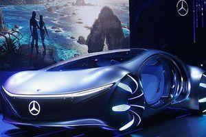 Xe hơi như sinh vật của Mercedes ra mắt