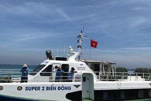 Vận tải biển tuyến Sa Kỳ - Lý Sơn: Hoạt động xuyên Tết