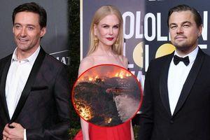 Leonardo Dicaprio và sao quốc tế kêu gọi ủng hộ Úc vì thảm họa cháy rừng