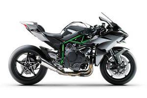 Top 10 môtô nhanh nhất trên thị trường: Kawasaki Ninja H2R góp mặt