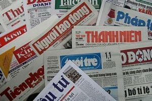 Sau quy hoạch, 9 cơ quan báo chí TP Hà Nội dừng hoạt động