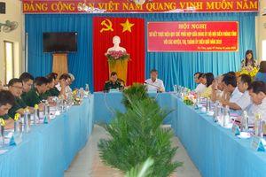 Đảng ủy BĐBP An Giang sơ kết thực hiện quy chế phối hợp với huyện, thị ủy, thành ủy biên giới