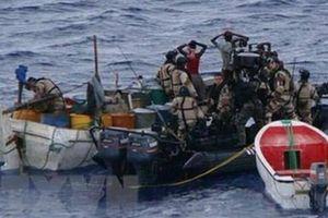 Cướp biển hoành hành ở vịnh Guinea, châu Phi