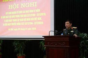 Cơ quan Tổng cục Chính trị thực hiện tốt các hoạt động kỷ niệm năm 2019