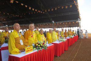 Ngôi chùa lớn nhất Quảng Ngãi đặt đá xây chánh điện