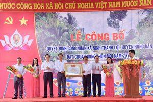 Hồng Dân tăng tốc hoàn thành mục tiêu xây dựng NTM