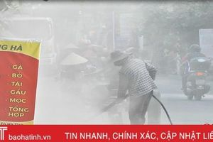 Thi công đường, hàng chục hộ dân TP Hà Tĩnh sống trong 'bão bụi'!