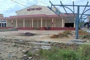 Tiểu thương chợ Phú Thuận (Quảng Nam) bức xúc khi xã đề nghị di dời trước Tết